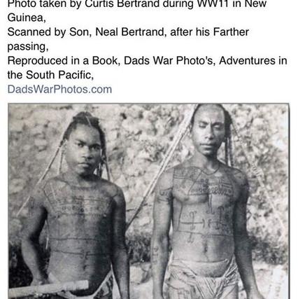 Men's Tattooing Papua New Guinea