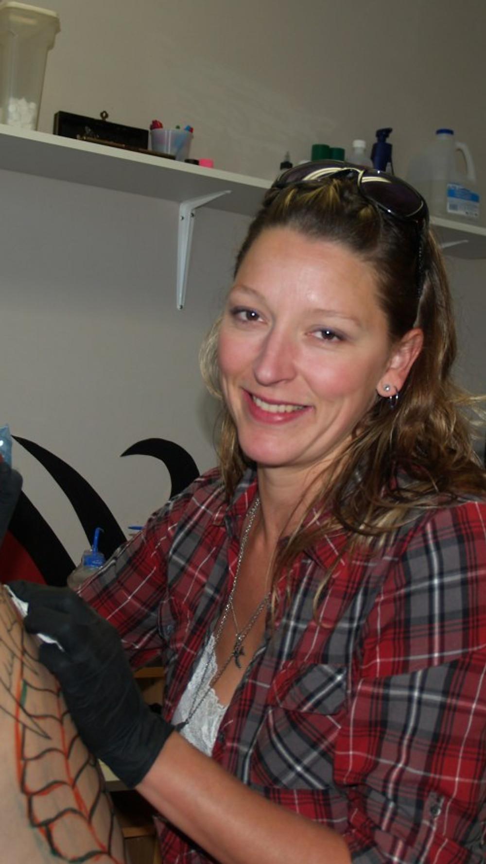 Carla Gosgnach Hard at Work