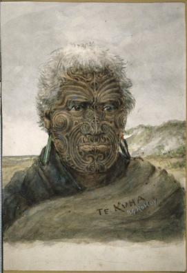 Face Tattoos of Maori