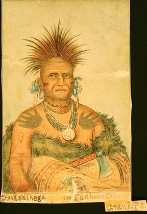Pawnee Men's Tattoos