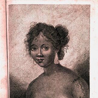 Caroline Island Woman's Tattoo