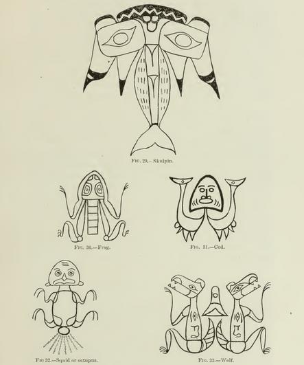 Haida Crest Tattoos