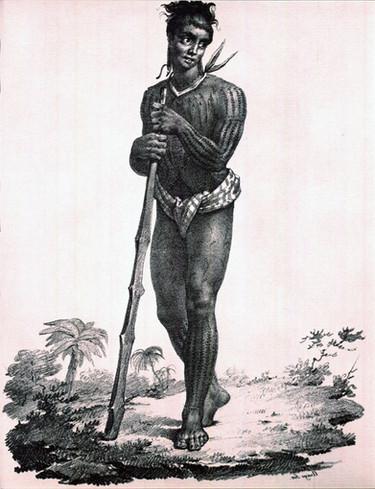 Polynesian Tattooing