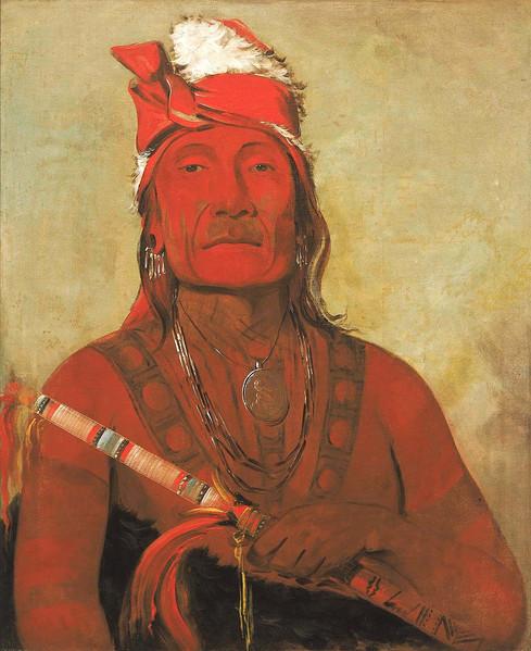 Sioux Native American Tattoo