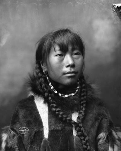 Inuit Chin Tattoo
