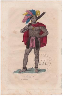 Marquesan Warrior Tattoos