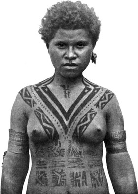 Tattoos of Papua New Guinea