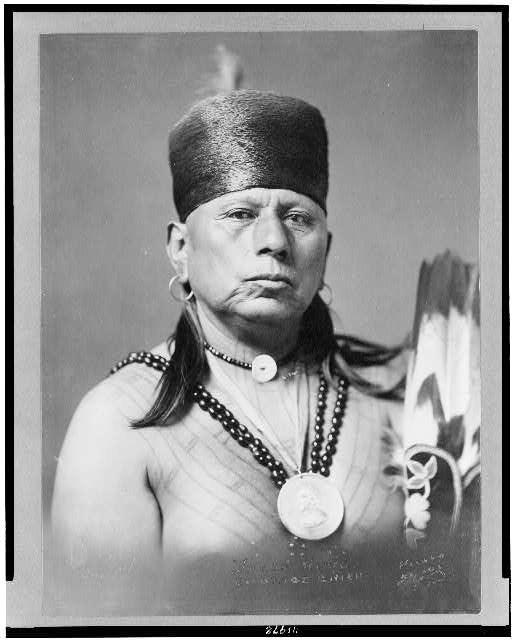 Osage Chief Tattoos