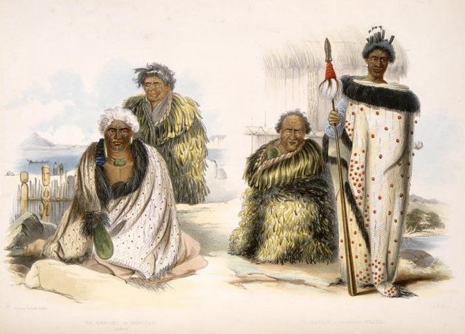 Maori Dress and Tattoos