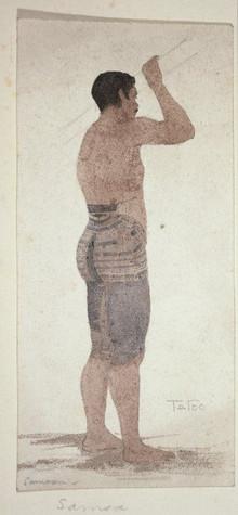 Samoan Pe'a Tattoo Tatau