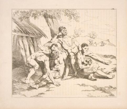 Four Tattooed Polynesians