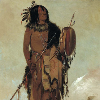 Wún-nes-tou, White Buffalo, an Aged Medicine Man