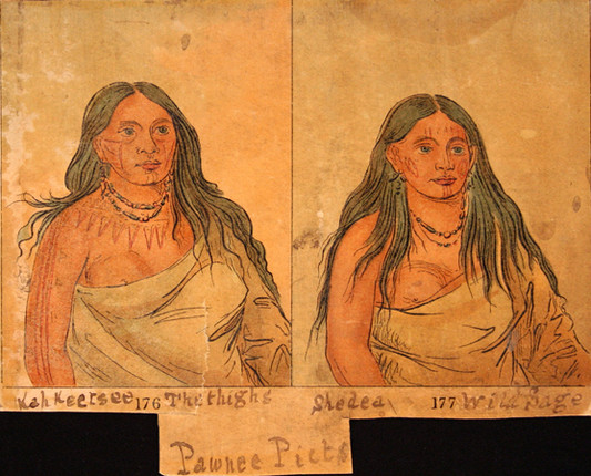 Pawnee Woman's Tattoos