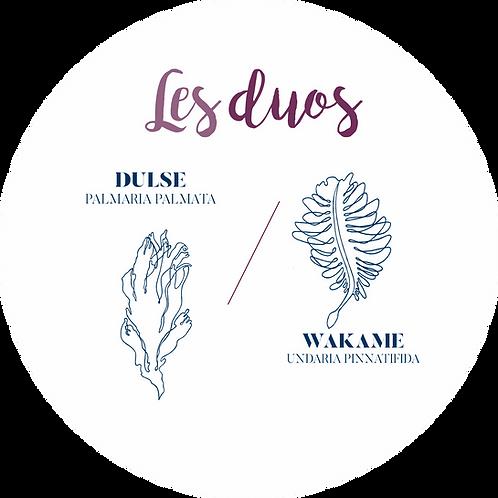 Les DUOS - Dulse et wakamé bio - 250 gr