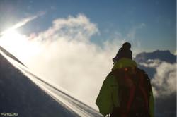 portrait laclusaz ski