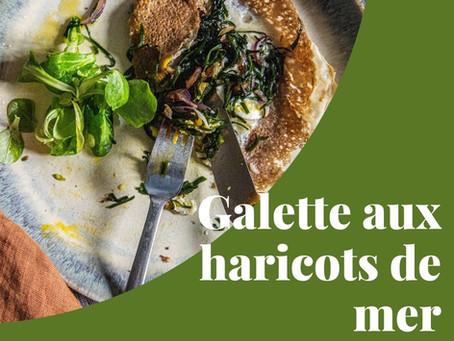 Kif aux algues #2 : galette aux haricots de mer