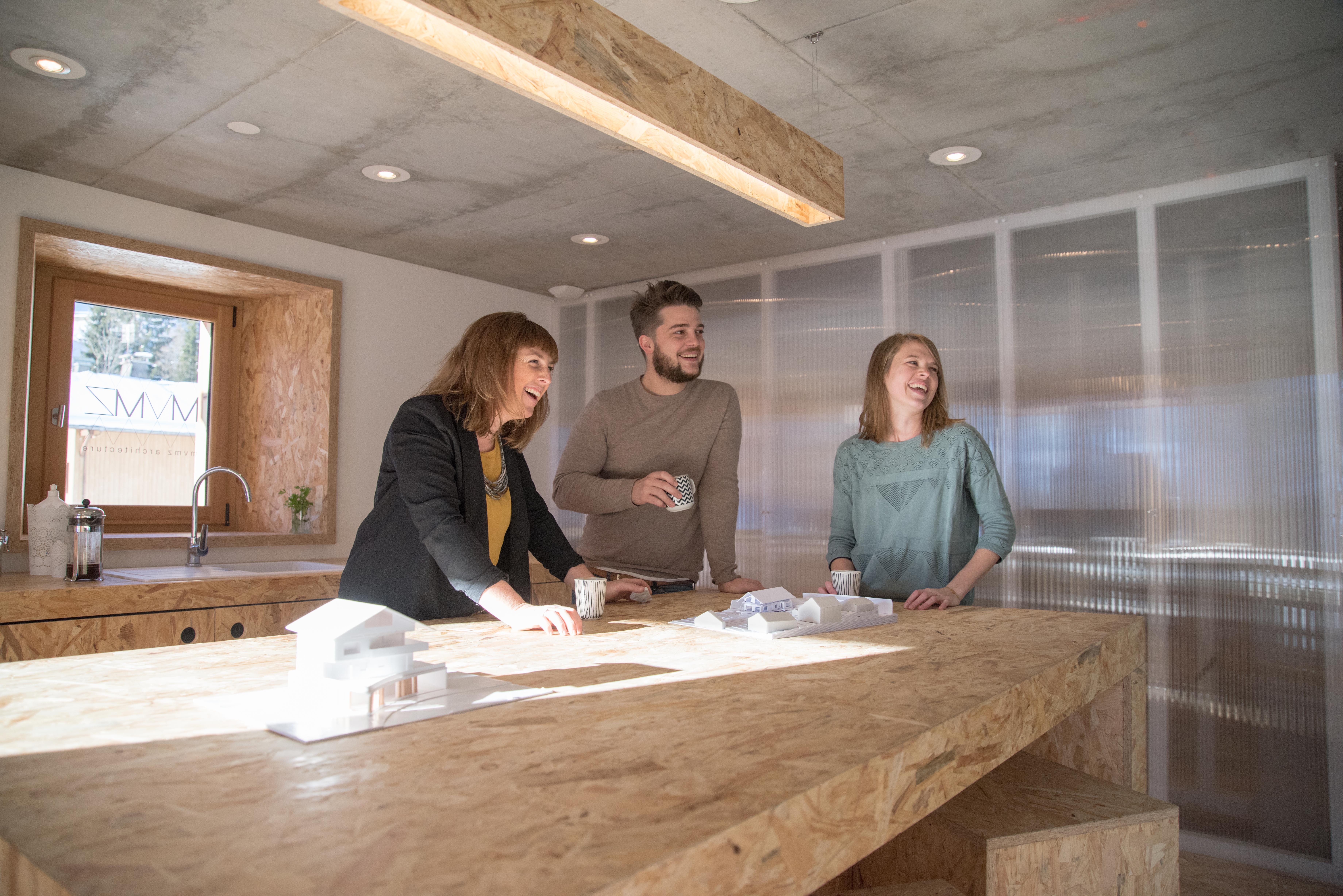 Cabinet architecture MVMZ