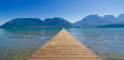 Lac d'Annecy - ponton