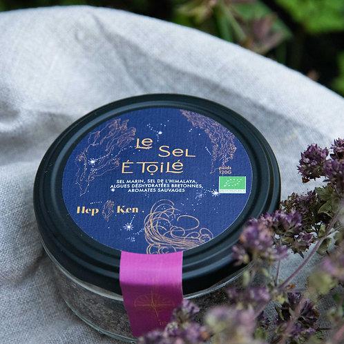 Sel étoilé - Sel aux algues bio - 120 gr