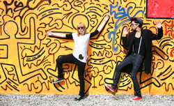 Portrait photography Keith Haring