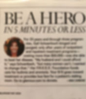 Glamour Features Gail as a Hero