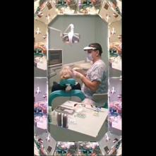 Восстановление сильно разрушенного 2.1 зуба в два посещения