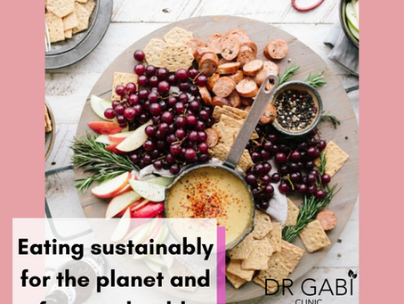 Eating sustainably for the planet and for your health