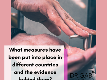 What measures have been put into place in different countries and the evidence behind them?