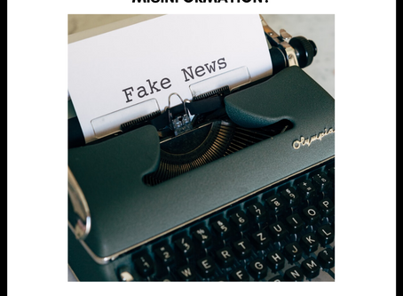 How can we stop the spread of misinformation?