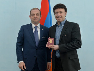 Daniel Decker - Citizen of Armenia