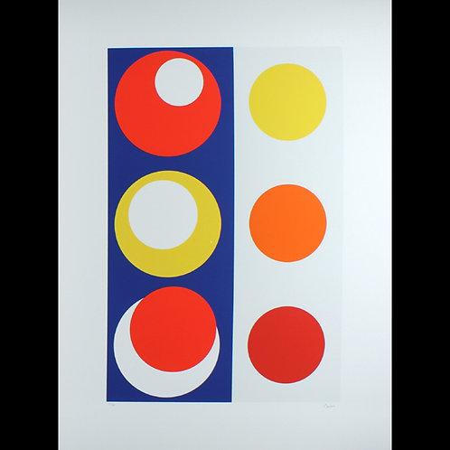 Geneviève Claisse - Composition Géométrique Cercles