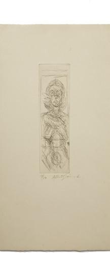 Alberto Giacometti, Annette de face (1955)