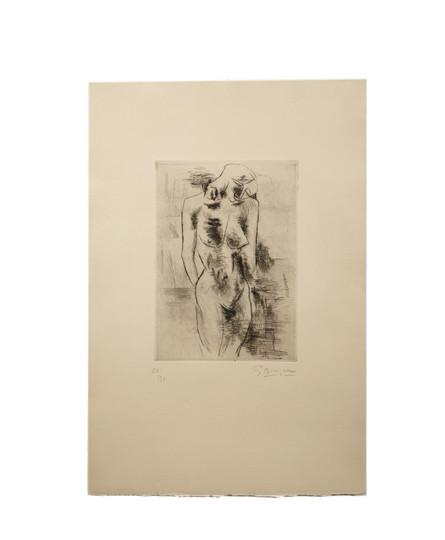 Georges Braque, Etude de nu (1908)