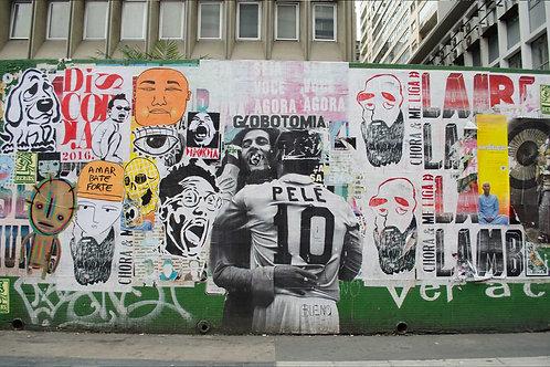 Pelé e Bob Marley