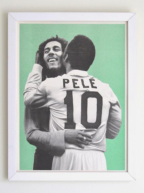 Pelé Beijoqueiro: Bob Marley