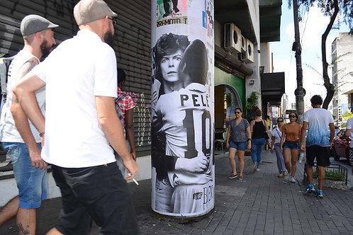 Pelé e David Bowie
