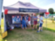 speedwatch stand at the 2019 village fete