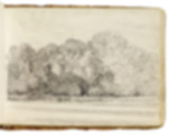 Sketch by John Constable