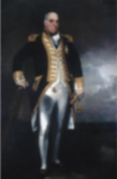 Rear Admiral Western painting by John Constable