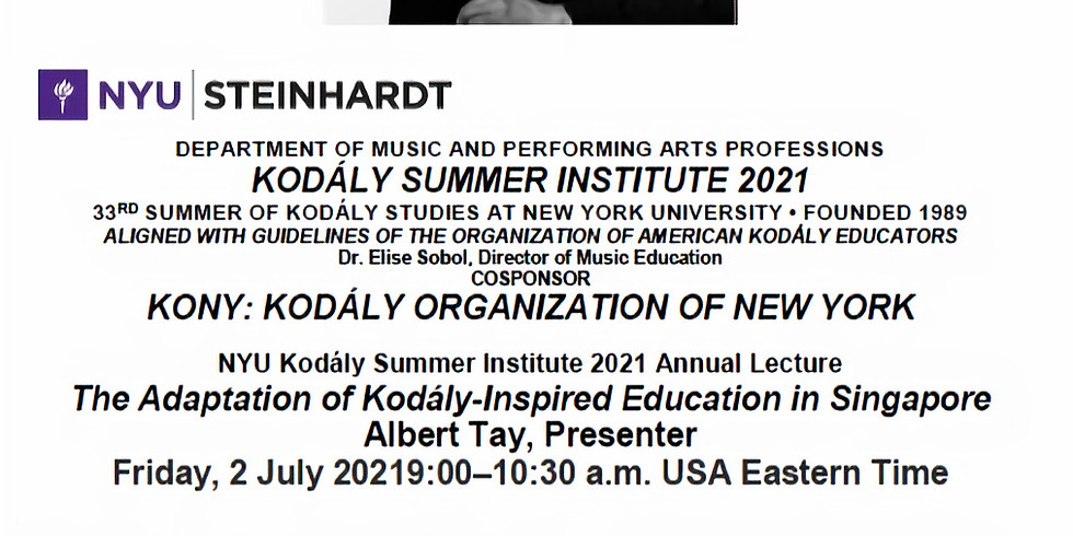 NYU/ KONY Summer Institute 2021 Annual Lecture