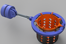 Affordable 3D Printed Plastic Prototype of a Fish Feeding Invention for an Inventor in Pittsburgh, PA