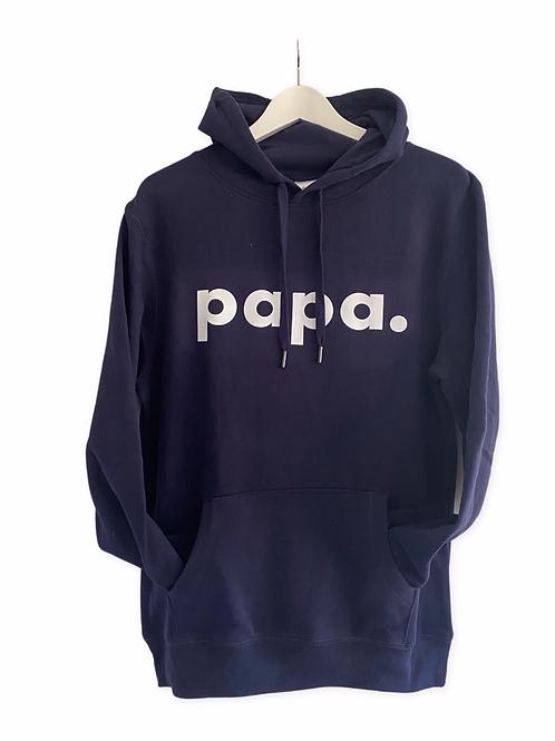 Papa.-Hoodie (bedruckt)