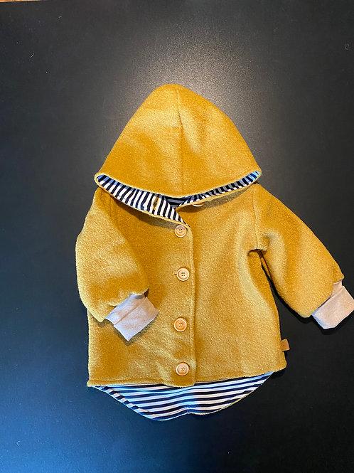 Wollwalk Jacke mit Knöpfen (gefüttert), trendy colours