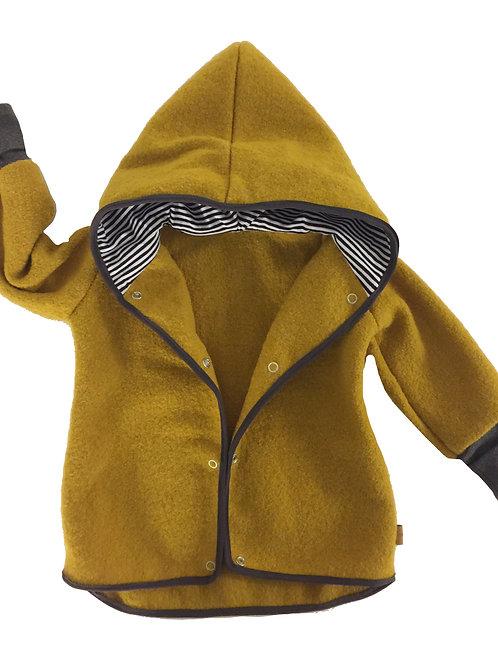 Wollwalk Jacke (ungefüttert), trendy colours - Gr. 62/68, 74/80, 86/92