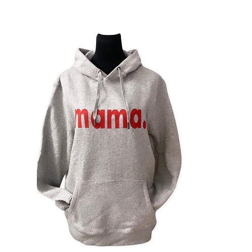 Mama.-Hoodie (bedruckt)