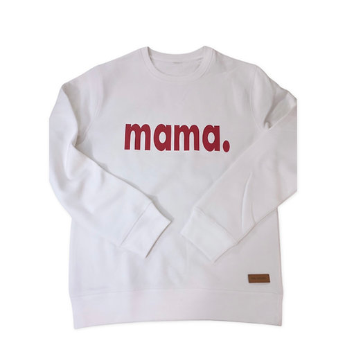 Mama.-Sweatpulli (bedruckt)