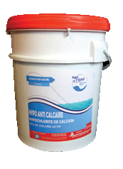 Chlore solide hypochlorite de calcium en granulé ou stick