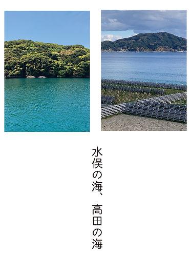 水俣の海、高田の海