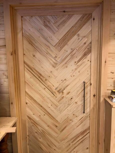 Custom Pine Door