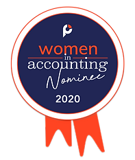 Women in Accounting Nominee Badge